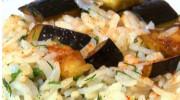 Tavuklu Patlıcanlı Pirinç Pilavı